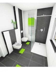 Badezimmerplan