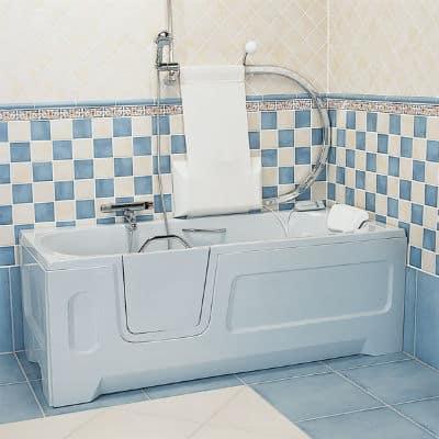 Liegebadewanne für Senioren
