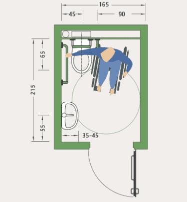behindertengerechtes bad planen raum und m beldesign inspiration. Black Bedroom Furniture Sets. Home Design Ideas