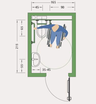 badezimmer behindertengerecht umbauen mit instatec. Black Bedroom Furniture Sets. Home Design Ideas