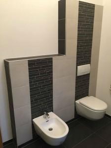 Neues WC und Bidet