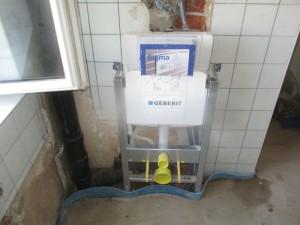 Geberit WC-Aufhängung
