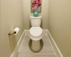 Fugenloses WC