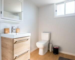 Fugenloses Bad mit WC